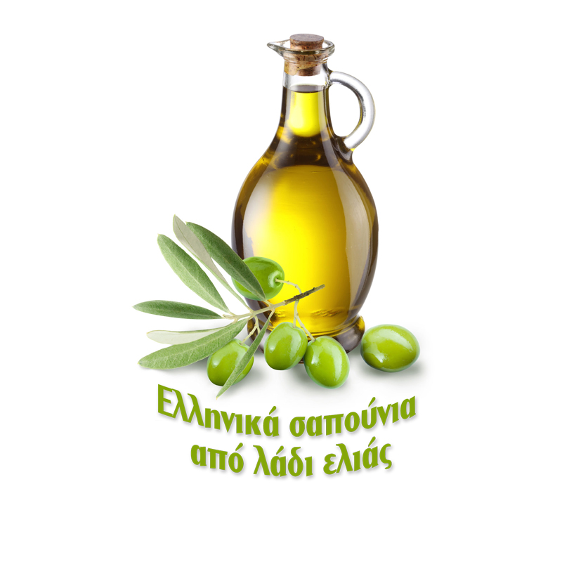 Greek soaps from olive oil